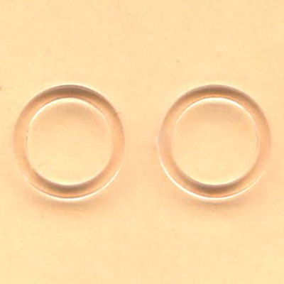 10mm clear plastic ring