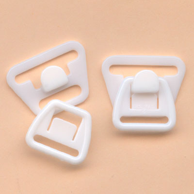 18mm white plastic maternity clasp