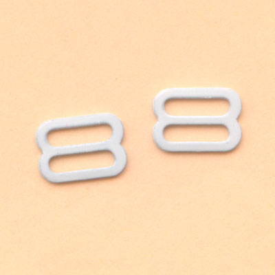 8mm white metal slider