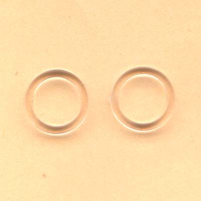 8mm clear plastic ring