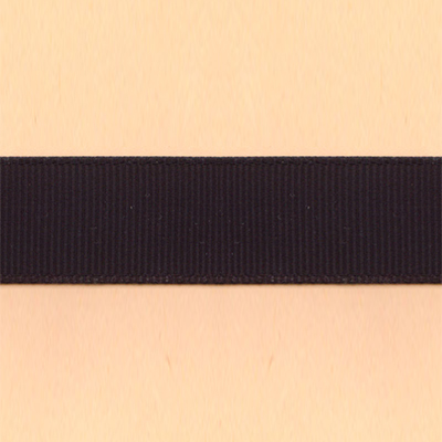 10mm Grosgrain Ribbon - Black