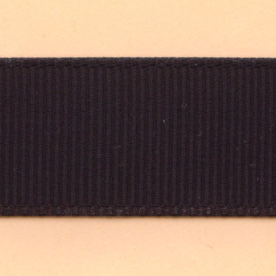 20mm Grosgrain Ribbon - Black