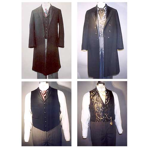 LM109 Men's Frock Coats and Vests Pattern