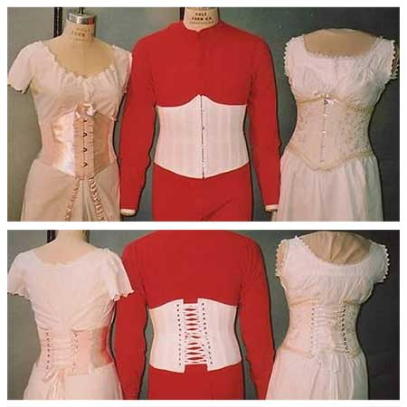 LM113 Ladies' and Gent's UnderBust Corset Pattern