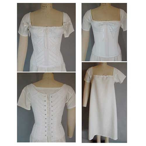 LM115 Regency and Romantic Era Corset Pattern
