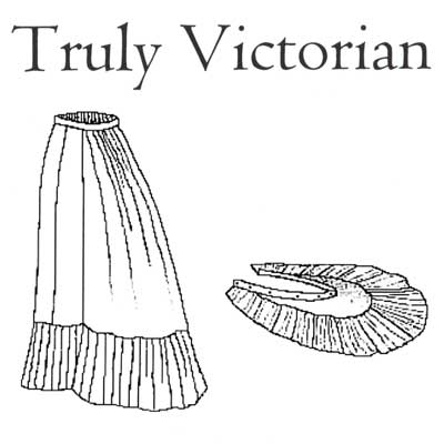TV125 1879 Petticoat Pattern