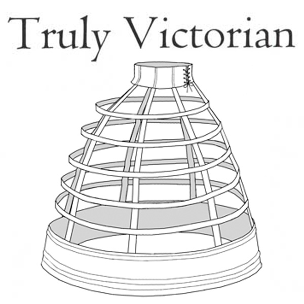 TV142 1856 Walking Cage Crinoline Pattern