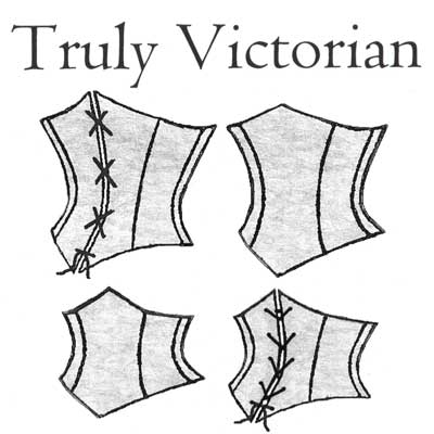 TV492 1890\'s Victorian Corselets Pattern