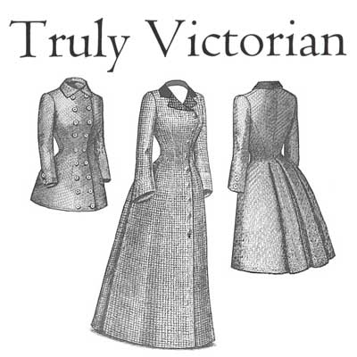 TV560 1880s Late Bustle Coat