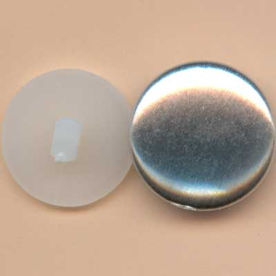 Self Cover Buttons - 19mm
