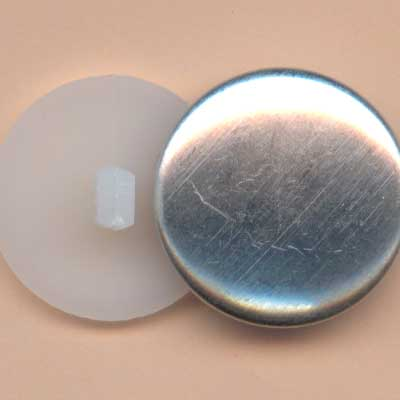 Self Cover Buttons - 23mm