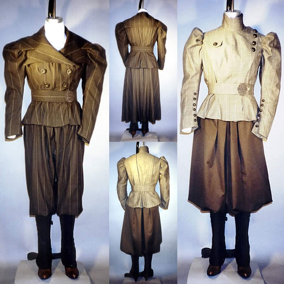 LM110 Ladies 1890s Sporting Costumes with Leggings Pattern