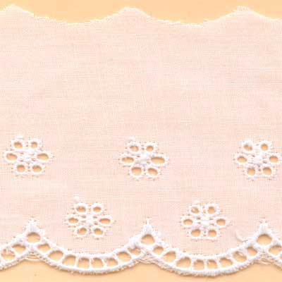 65mm Cambric Lace