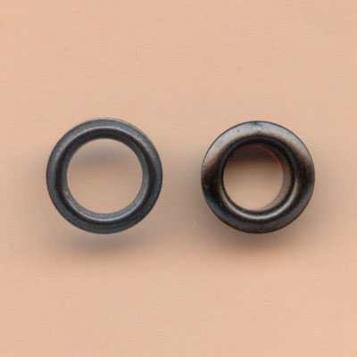 6mm Large Eyelets - Black