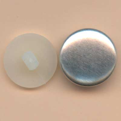 Self Cover Buttons - 17mm