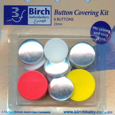 Button Covering Kit - 23mm