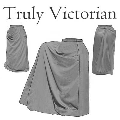 TV264 1883 Riding Habit Skirt